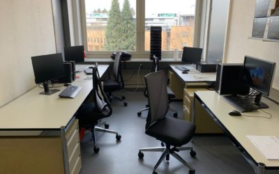 Lab members's office